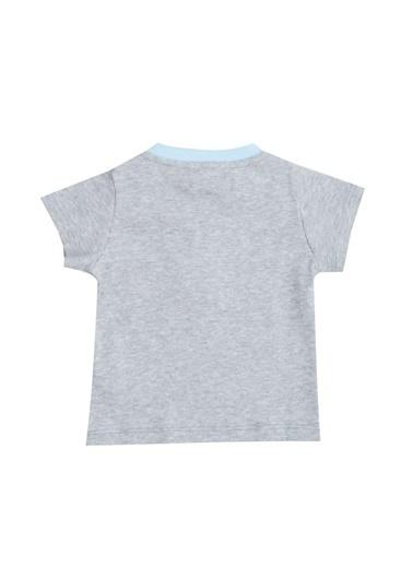 Mammaramma 71Gıb Dog025 Çocuk Tshirt Gri